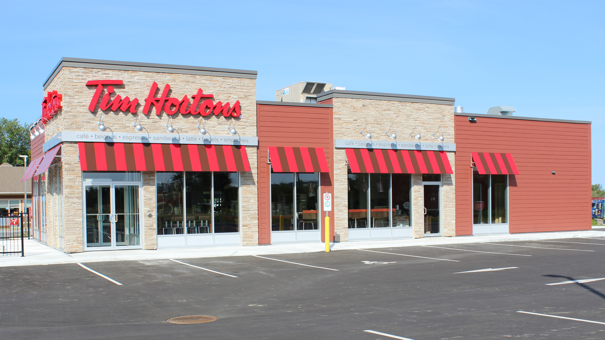 Tim hortons construction bertrand dionne for Club piscine terrebonne liquidation